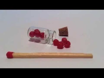 Tuto Fimo - Framboises | Polymerclay Tutorial - rasberries miniatures