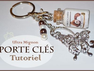 Tutoriel: Porte clés fiole. Tutorial Keychain bottle