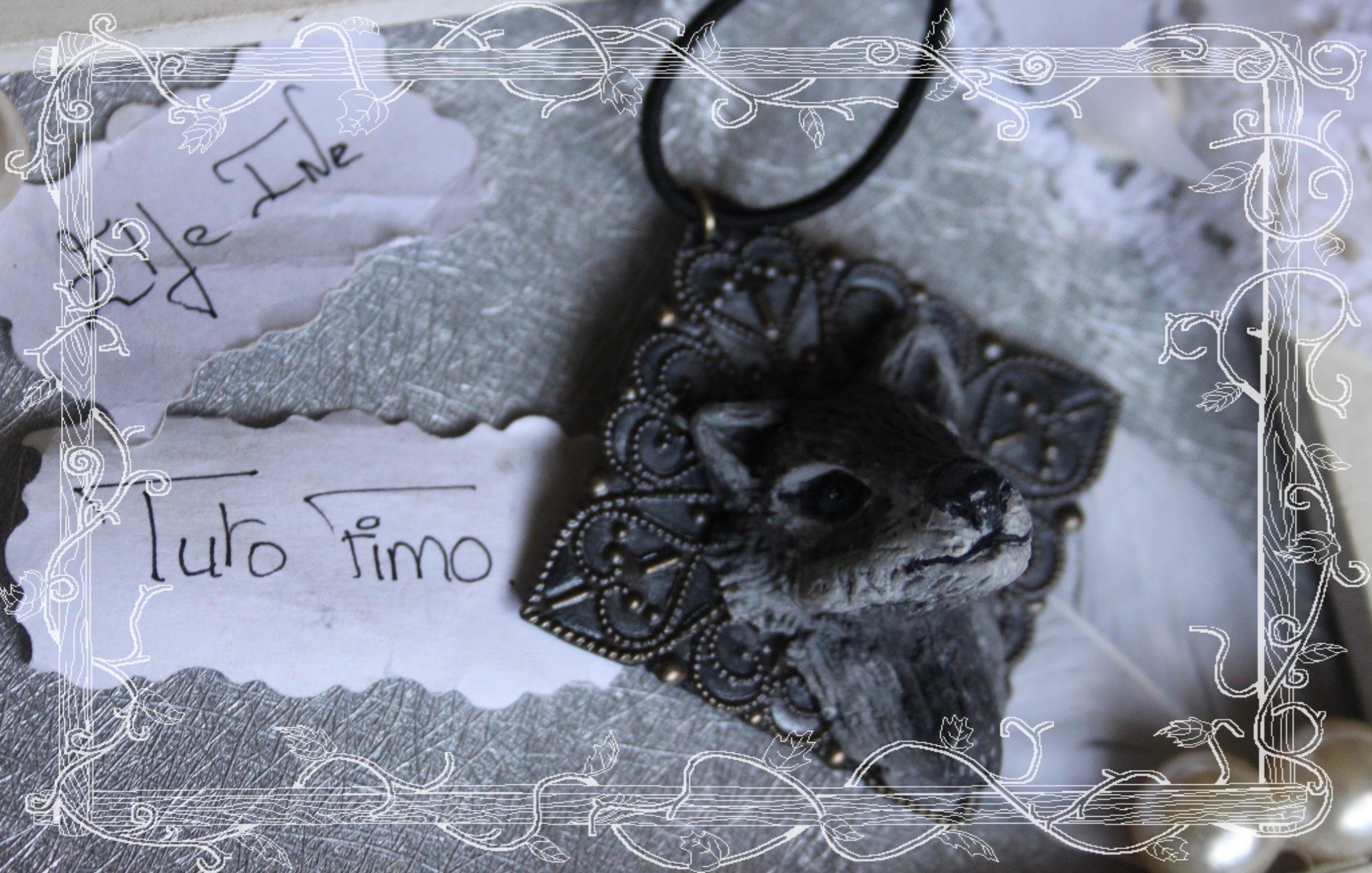 [♥✿ Tuto Fimo : Le loup ✿♥] ~ [♥✿ Polymer Clay Tutorial : Wolf ✿♥]