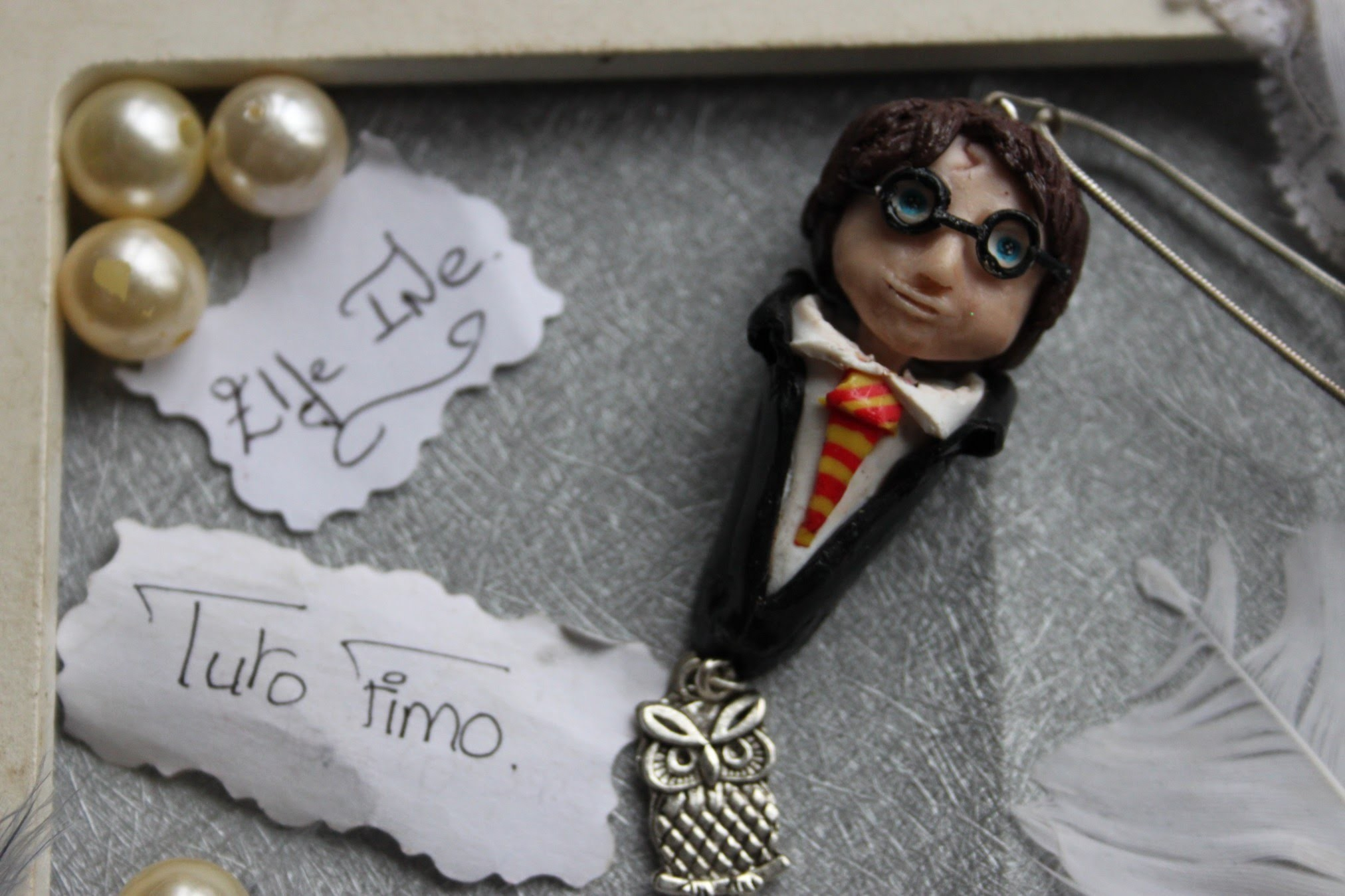[♥✿ Tuto Fimo.Polymer Clay Tutorial : Harry Potter ✿♥]