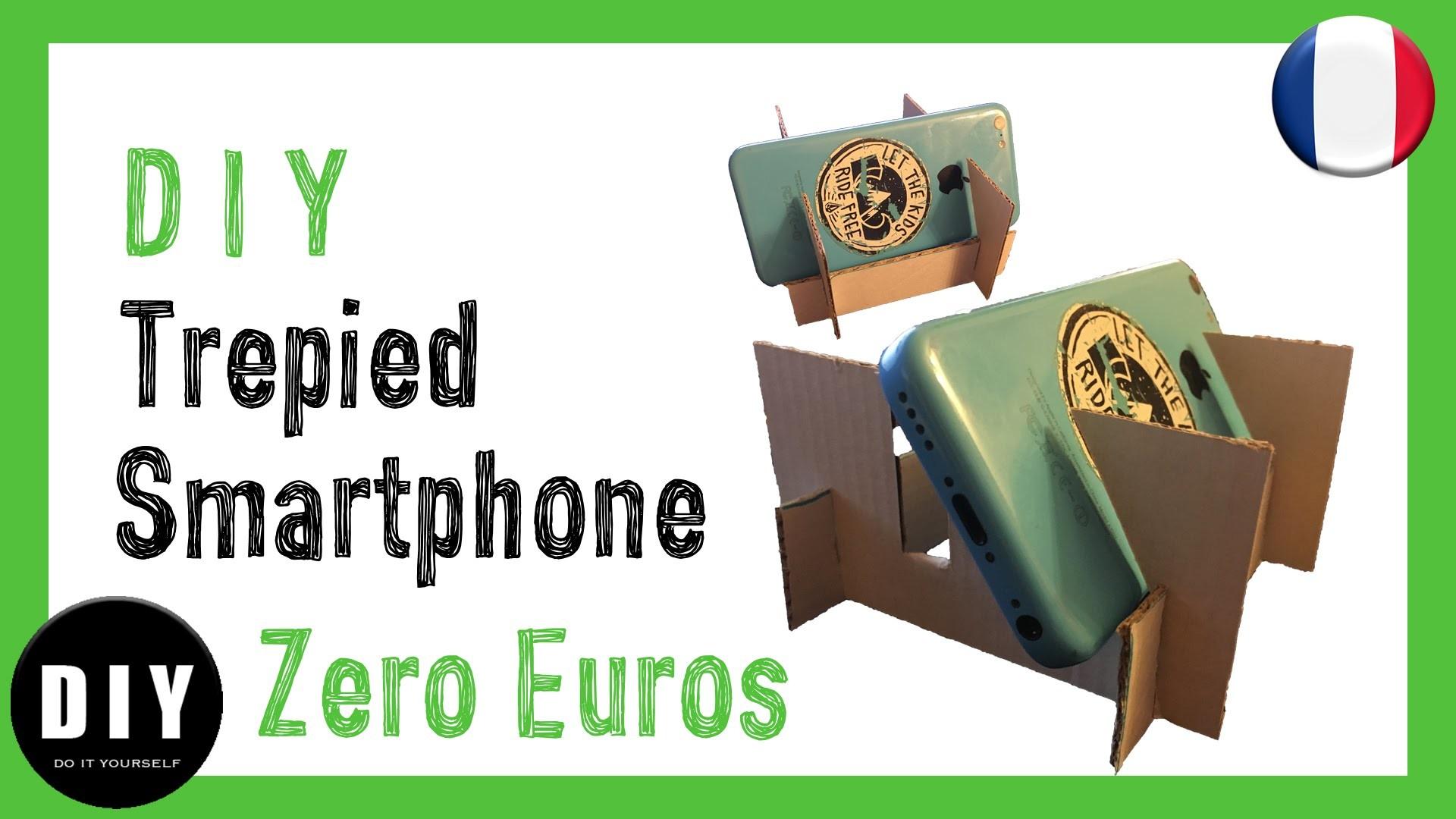 D I Y - Trépied Smartphone pour 0€