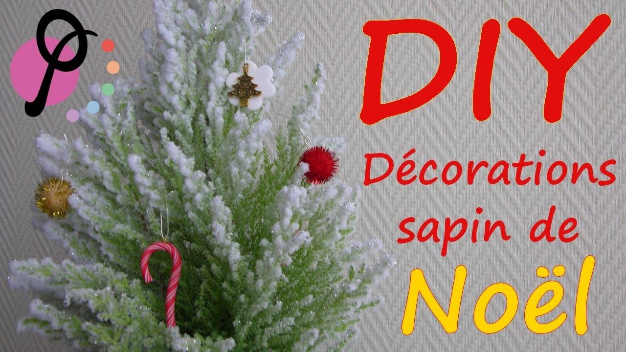 DIY #6 - 3 idées de décorations de sapin de Noël à réaliser soi-même [PimPomPerles.fr]