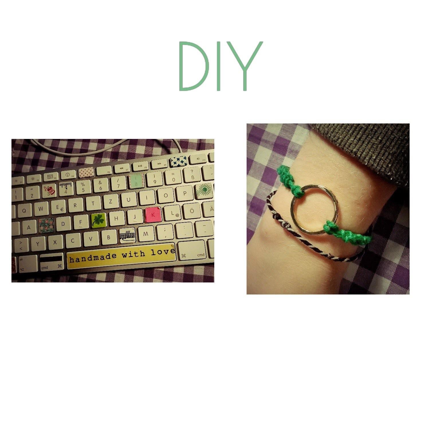 DIY clavier + bracelet