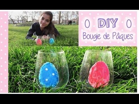 0 DIY : Décorer une bougie de pâques avec du verni 0