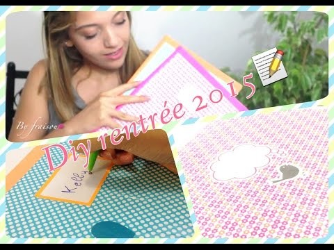 """Bag to school"" DIY fournitures scolaires"