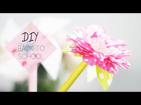 DIY Back To School   Agenda & Fournitures scolaires