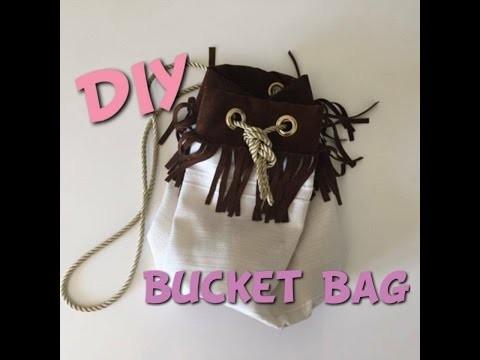 DIY bucket bag (sac seau)