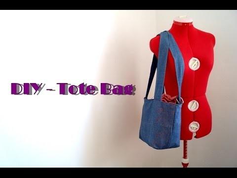 DIY - Tote bag - Couture pour débutant