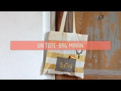[DIY] Un tote-bag marin pour la plage | Mat'Aime