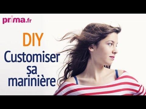 Customiser sa marinière - DIY mode