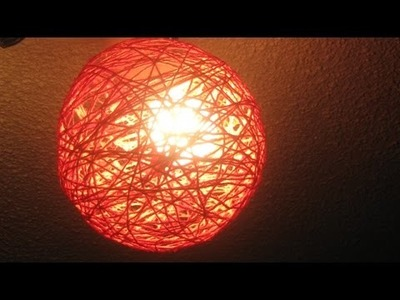 Des boules décoratives en fil - DIY Maison - Guidecentral