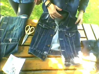 ♥ diy ♥ : customise ta vieille veste en jean
