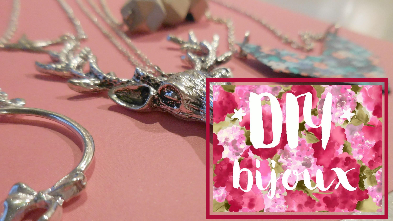 ✄ Diy : Des bijoux rapides à faire & faciles à por