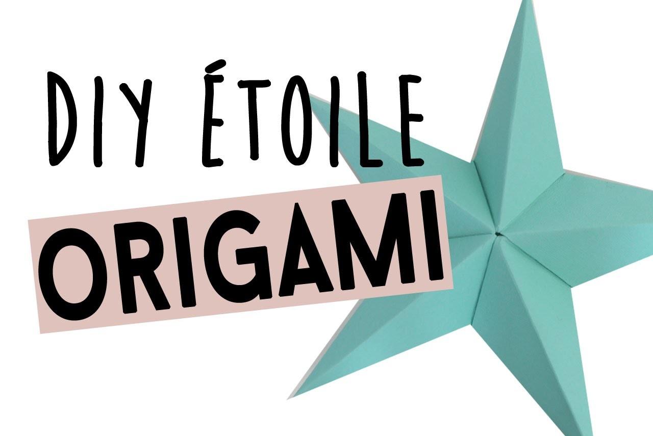 DIY | Etoile de noel 3D en Origami