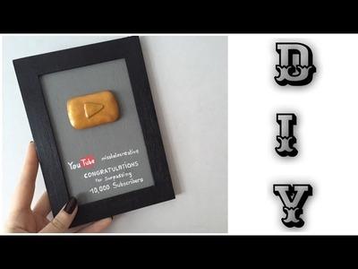[DIY] Le Golden Button YouTube