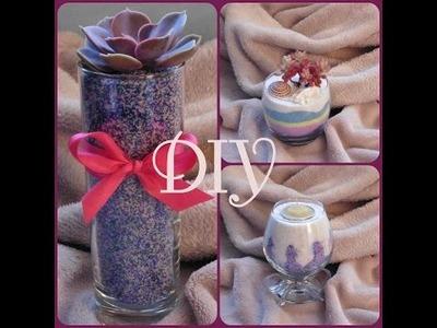 [DIY n°1] Plantes et bougies décoratives