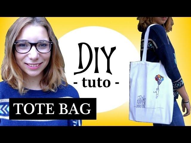 ✄- DIY n°17┆Coudre un TOTE BAG ! (facile. débutant)