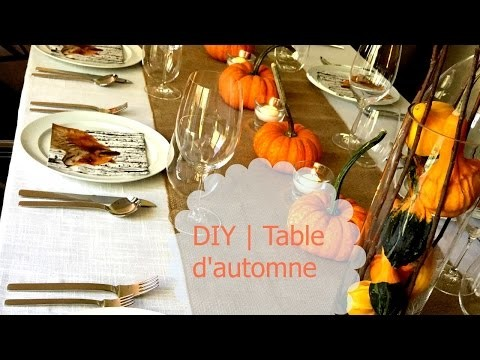 DIY | Table d'automne