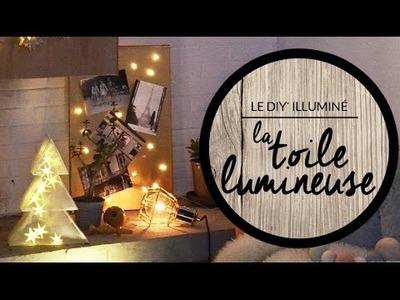DIY- Toile lumineuse - LightOnline