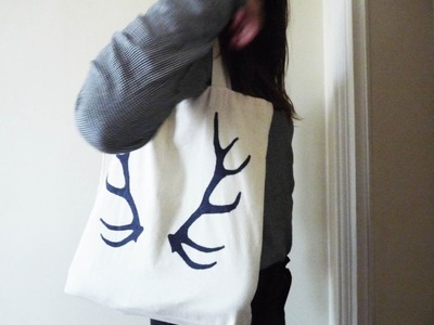 DIY Tote Bag de Noël | Loops