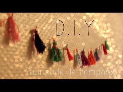 [ D.I.Y ] - Guirlande de pompons ◊