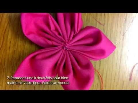 Fabriquez des fleurs en tissu - DIY Arts créatifs - Guidecentral