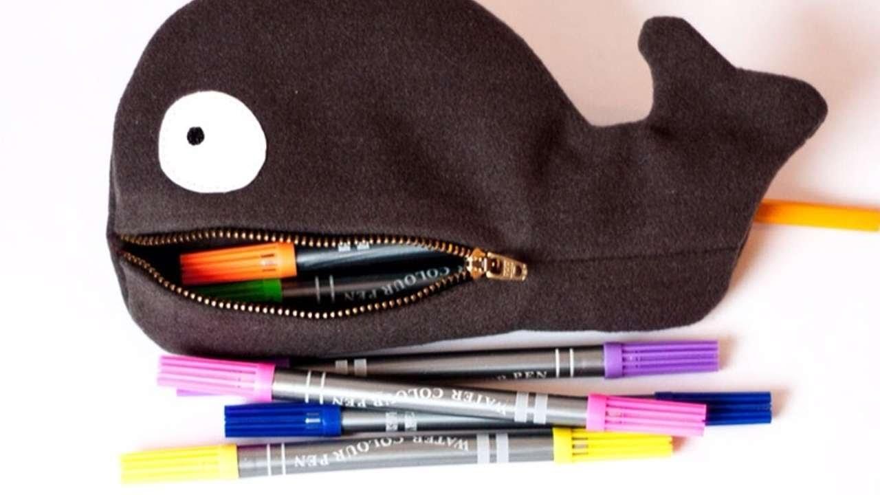 Créez votre trousse en forme de baleine - DIY Mode - Guidecentral