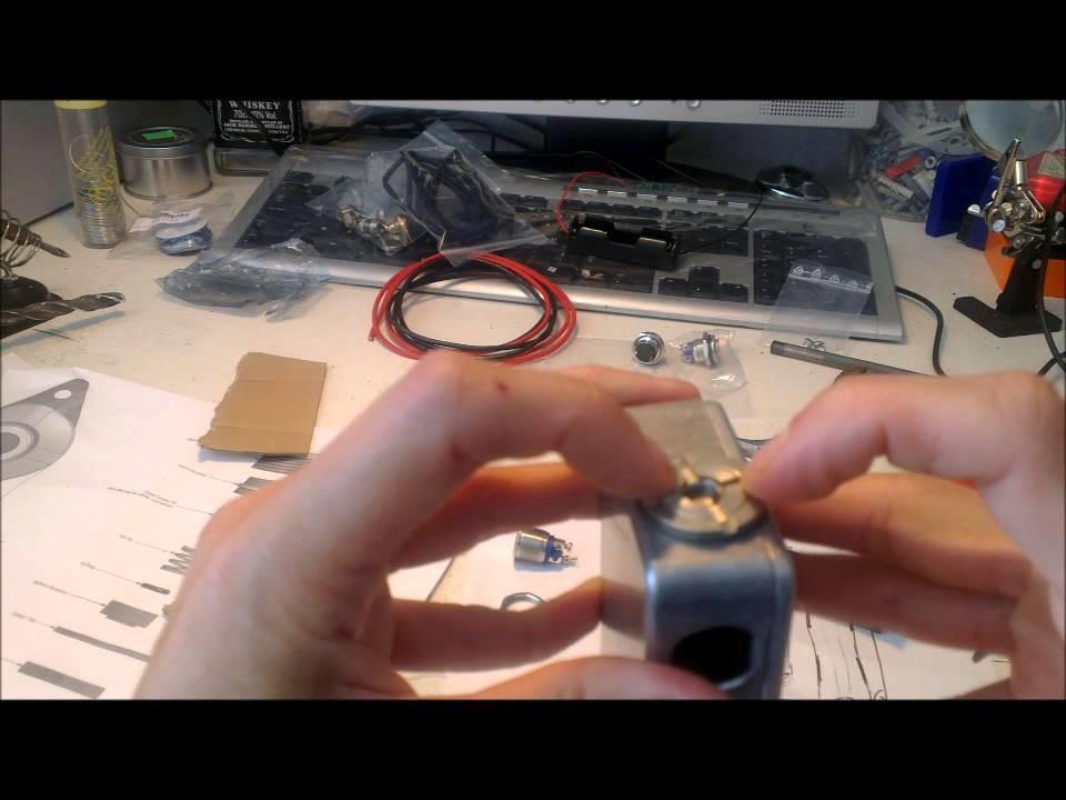 DIY Box Mod sx350 : étapes de réalisation 1.2