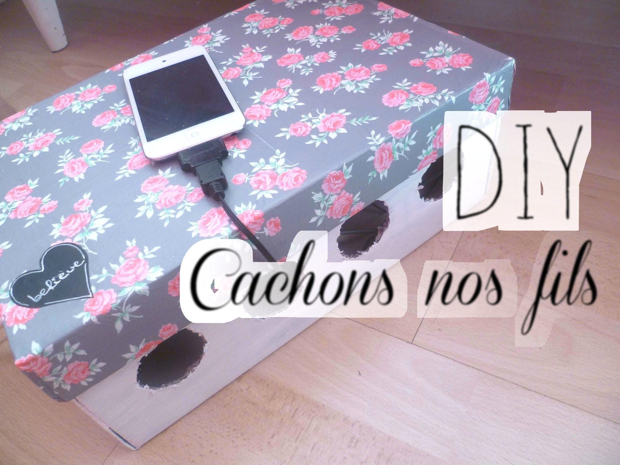 -- DIY -- Customiser une boite pour cacher ses fils.cables