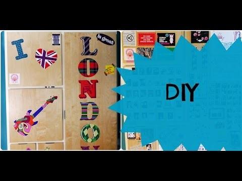 DIY décoration de votre armoire ❤❤❤