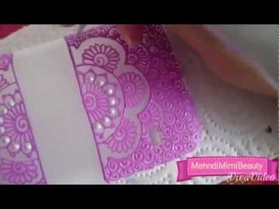 Diy henna phone case. coque portable personnalisée