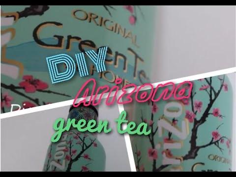 [DIY n°23] Arizona green tea