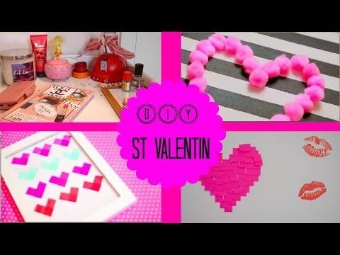 ♡ DIY | St Valentin Decoration Chambre