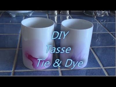 DIY Tasse Tie & Dye