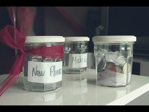 DIY 1 - Décoration - Des pots de confitures pour économiser