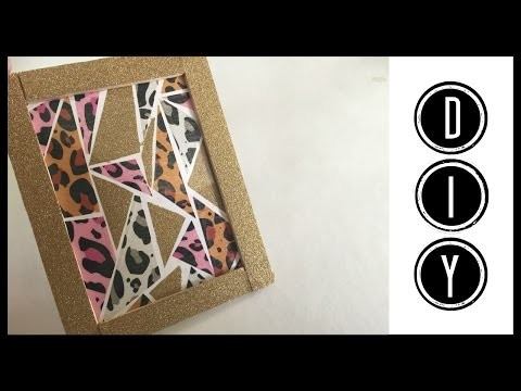 [DIY] Cadre en washi tape (PimPomPerles)