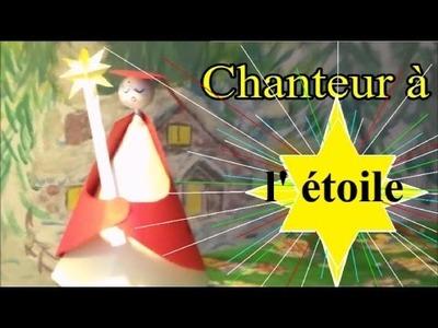DIY Noël : Chanteur à l'étoile à fabriquer