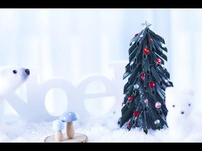 DIY Noël Sapin avec des pâtes Penne