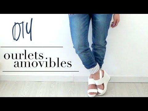 DIY│Ourlets amovibles
