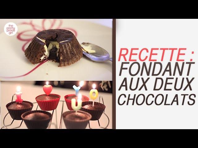 → DIY recette : fondant aux deux chocolats.