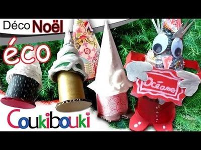DIY Sapin surprise en papier recyclé | boîte cadeau Noël - activité artistique pour enfant