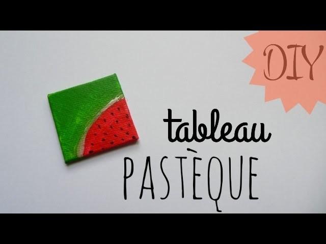 ✄ DIY : Tableau pastèque