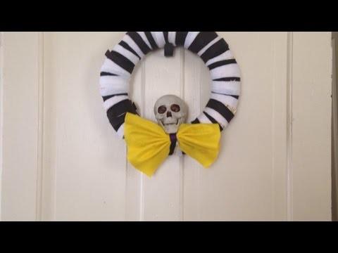 Fabriquez une jolie couronne d'Halloween - DIY Maison - Guidecentral