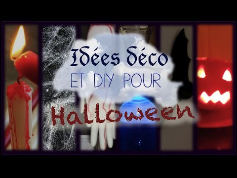 ✞ Idées déco et DIY pour Halloween ✞