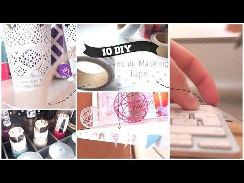 Que faire avec du Washi Tape ? 10 DIY!   10 ways to use Washi Tape !