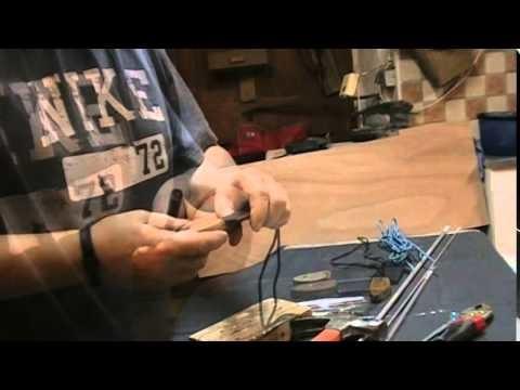 Tutoriel : DIY comment faire des pins mosaiques pour vos couteaux .