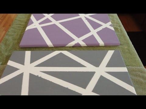 Votre trio de toiles design - DIY Maison - Guidecentral