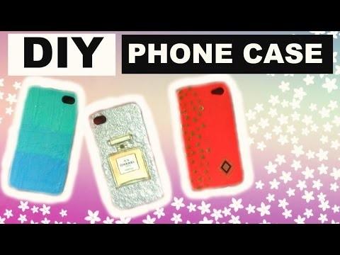 DIY : Coque De Téléphone.Phone Case ❤️