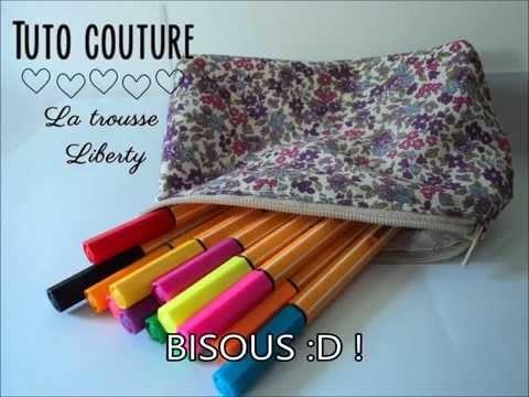 DIY couture: La trousse liberty ♥