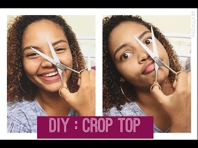 DIY : Crop top